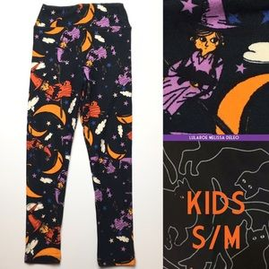 LuLaRoe KIDS s/m sizes 2-6 Halloween Leggings New